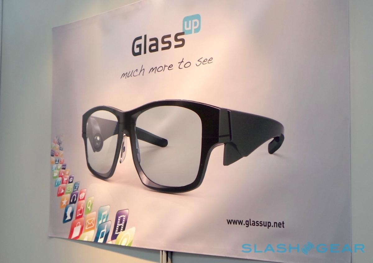 GlassUp sfida i GoogleGlass