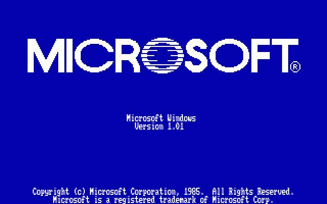 20 novembre 1985 – 20 novembre 2013: Windows1.0