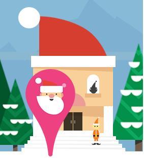 Segui Babbo Natale nel suoviaggio