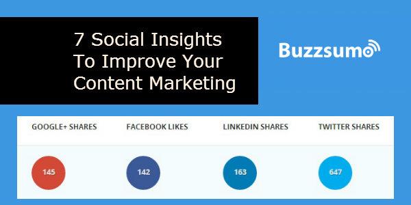 BuzzSumo per sapere di cosa si parla sui SocialMedia