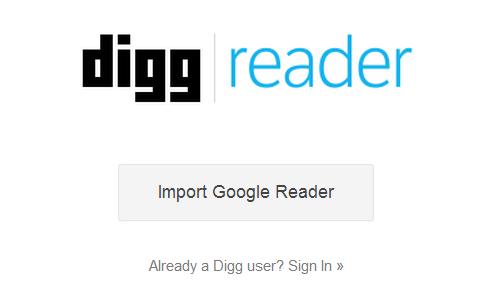 DIGG Reader: organizza al meglio i tuoi sitipreferiti