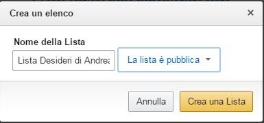 Liste Amazon