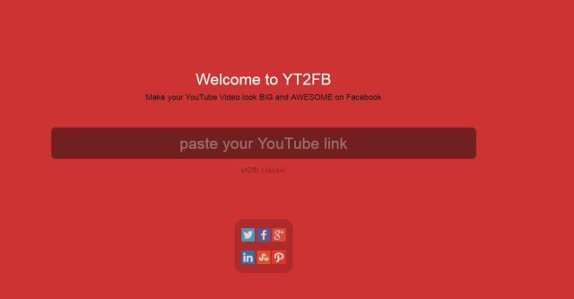 Cos'è YT2FB ? Il tool per migliorare la visibilità dei video suFacebook
