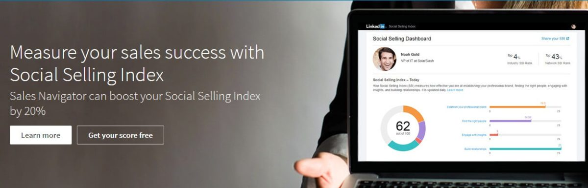 The Social Selling Index: misuriamo l'andamento del nostro profilo LinkedIn